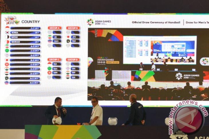 Panitia Pelaksana Asian Games 2018 pastikan undian Asian Games tetap