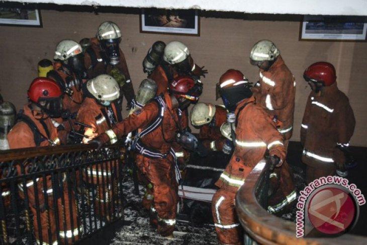 Kemenhub pastikan tidak ada pegawainya yang ditahan polisi terkait kebakaran
