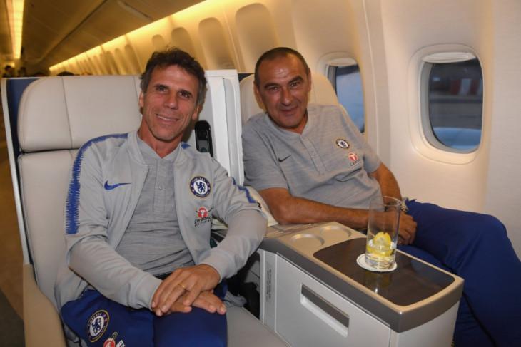 Sarri persilahkan Terry masuk tim pelatih Chelsea