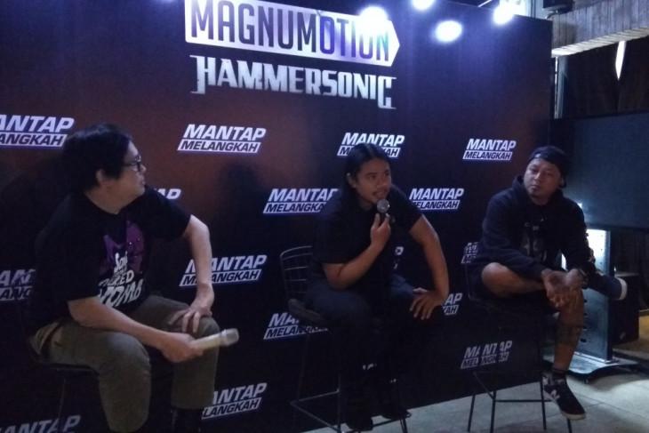 Hammersonic banyak band non-metal, ini kata Koil