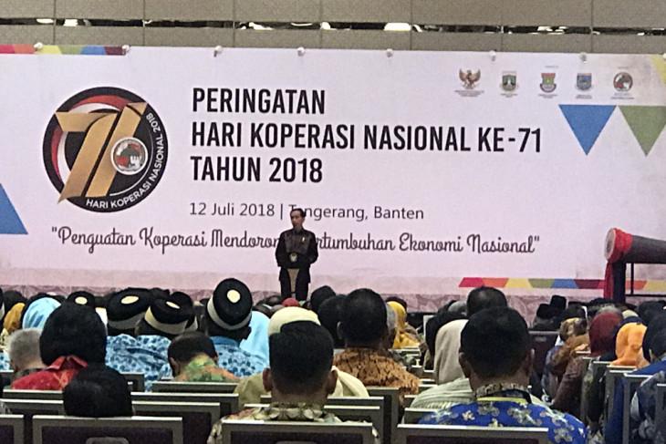Presiden Jokowi ingin koperasi menjadi tempat belajar anggotanya