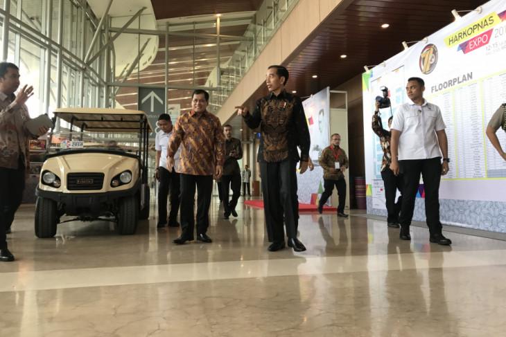 Presiden Jokowi bangga ada koperasi Indonesia beromzet triliunan