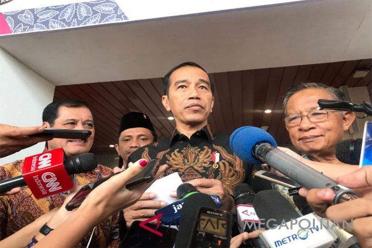 Jokowi arrives in Gorontalo