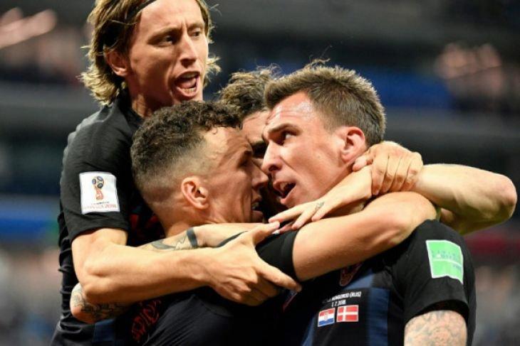 Kroasia melaju ke perempat final Piala Dunia menang adu penalti 3-2 atas Denmark