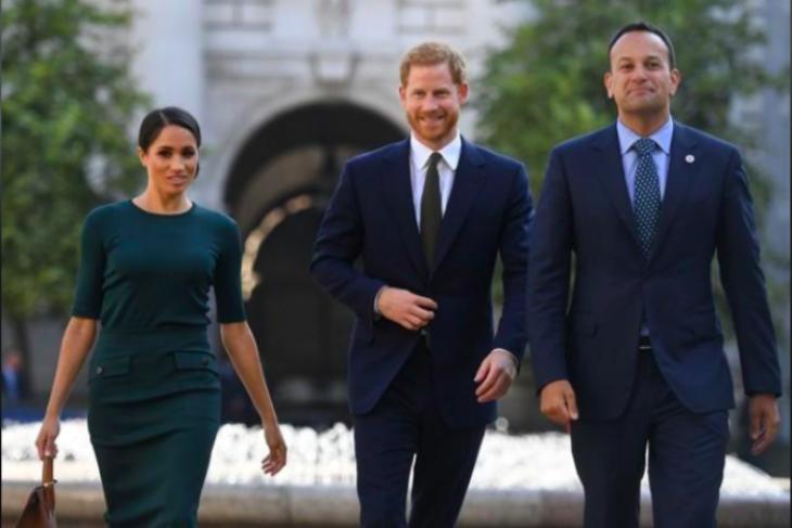 Dublin, kunjungan pertama Harry-Meghan sejak menikah