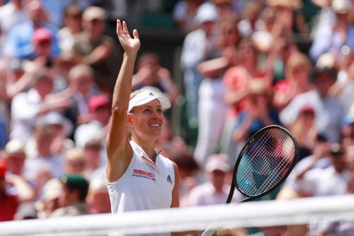 Kerber tundukkan Williams untuk gelar Wimbledon