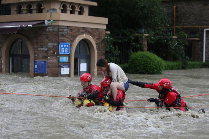 Hujan lebat di China telan 12 nyawa