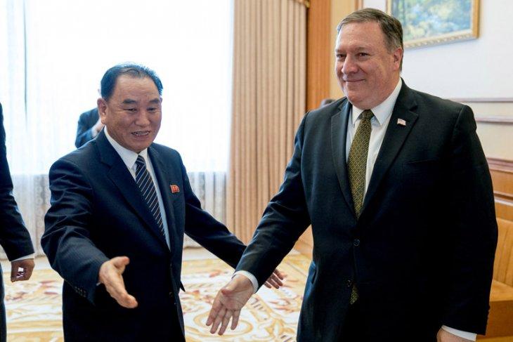Menlu Pompeo berharap pembicaraan dengan Kim di Pyongyang akan mengarah pada denuklirisasi
