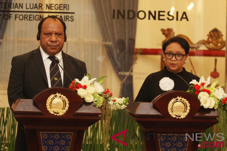 Menlu RI-PNG bahas pengembangan wilayah perbatasan