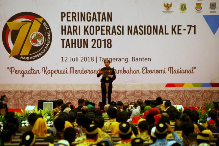 Presiden hadiri Harkopnas Ke- 71