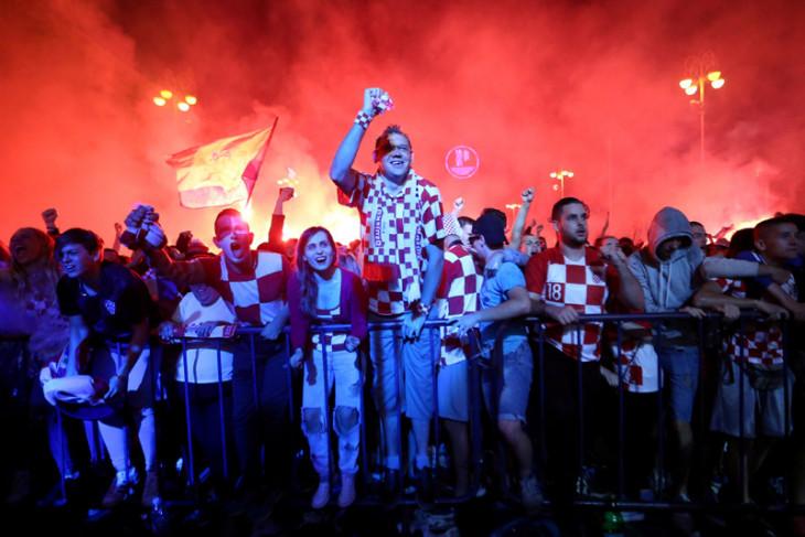 Suporter Kroasia akan nonton final di Moskow berapa pun harganya