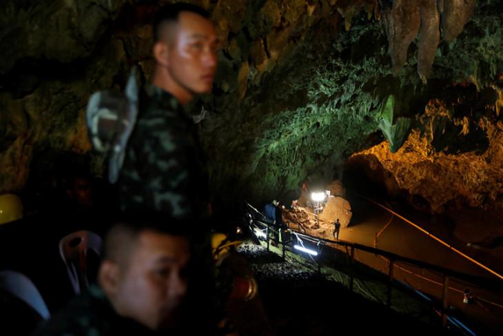 Hollywood angkat misi penyelamatan di gua Thailand ke layar lebar