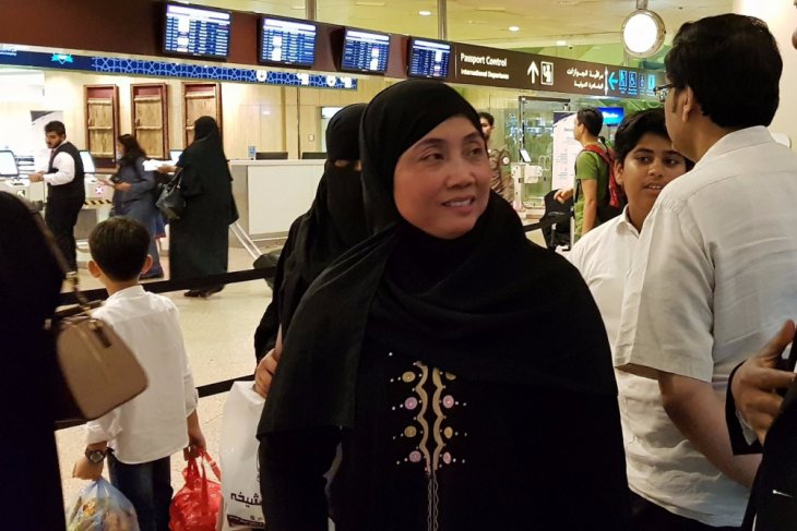 Indonesian freed from death penalty in Saudi returns to Indonesia