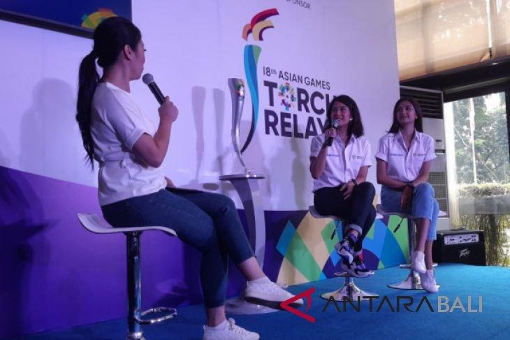 Dian Sastro-Mikha Tambayong siap bawa obor Asian Games 2018