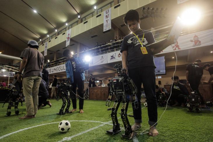 Jelang Kontes Robot Indonesia 2018