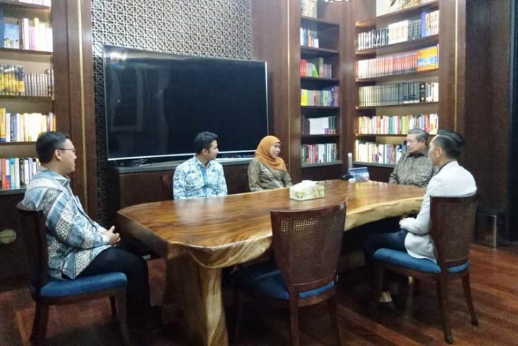 SBY pesan Khofifah-Emil bangun persatuan pasca-pilkada