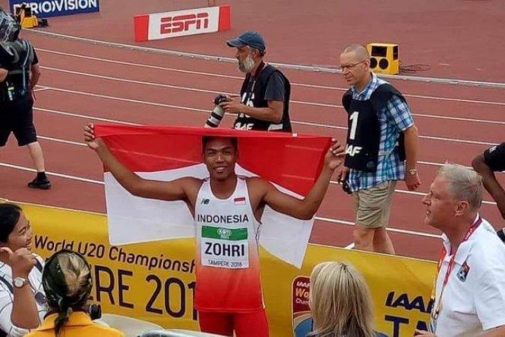 Lalu sabet juara dunia lari 100 meter