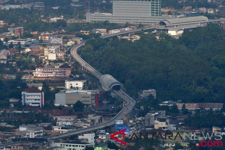 LRT Palembang Belum Beroperasi