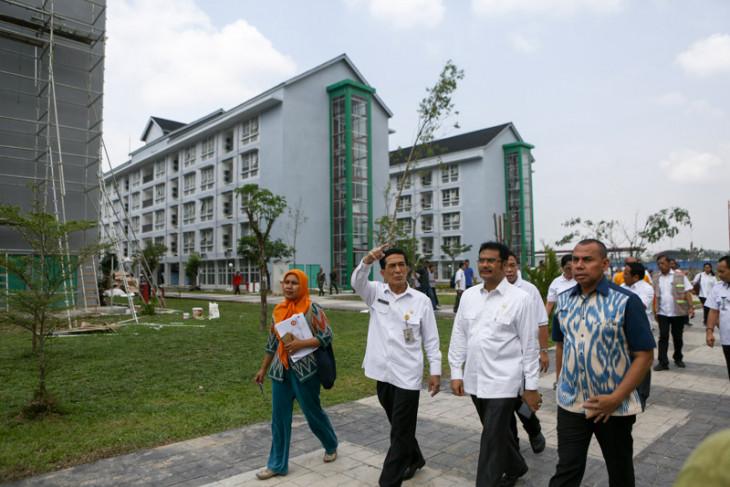 Komisi X DPR RI kunjungi Jakabaring Sport City