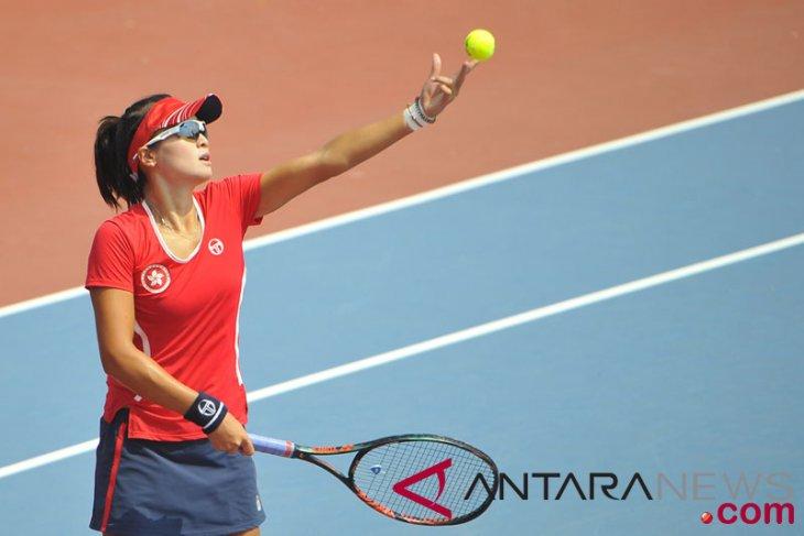 Tenis- Tunggal Putri Uzbekistan vs Hong Kong
