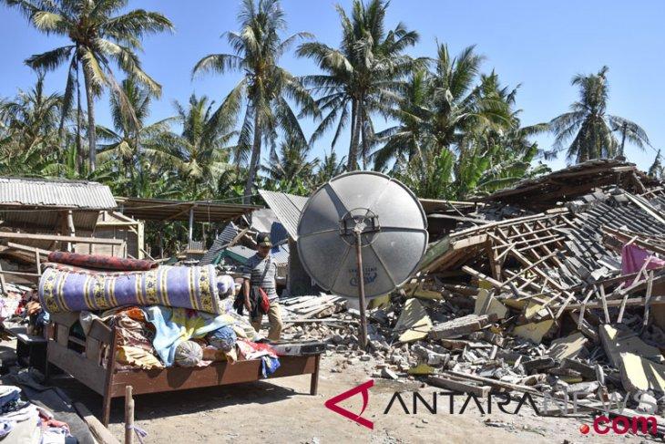 Kerusakan Akibat Gempa Lombok