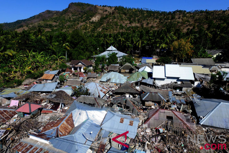 BNPB: korban jiwa akibat gempa Lombok tambah jadi 387