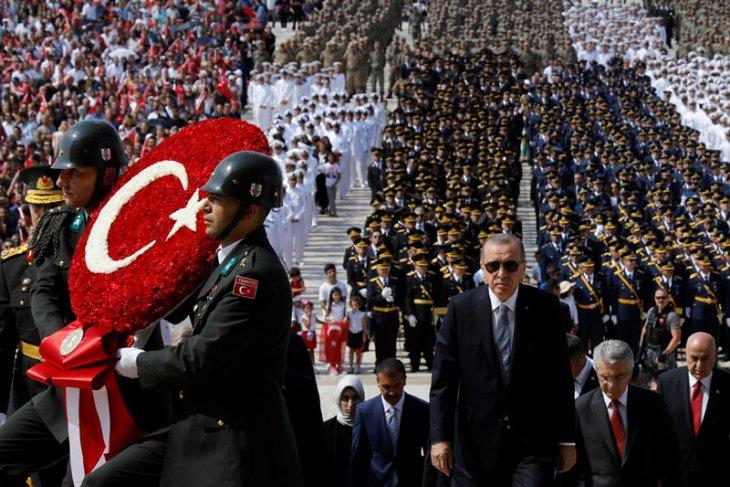 Hurriyet: presiden Erdogan berharap pertemuan Teheran hindarkan serangan terhadap Idlib
