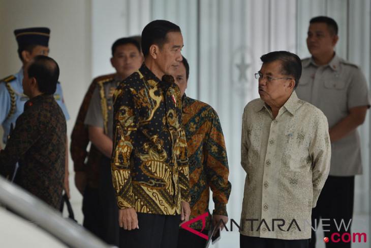 JK tolak tawaran Jokowi jadi ketua tim pemenangan