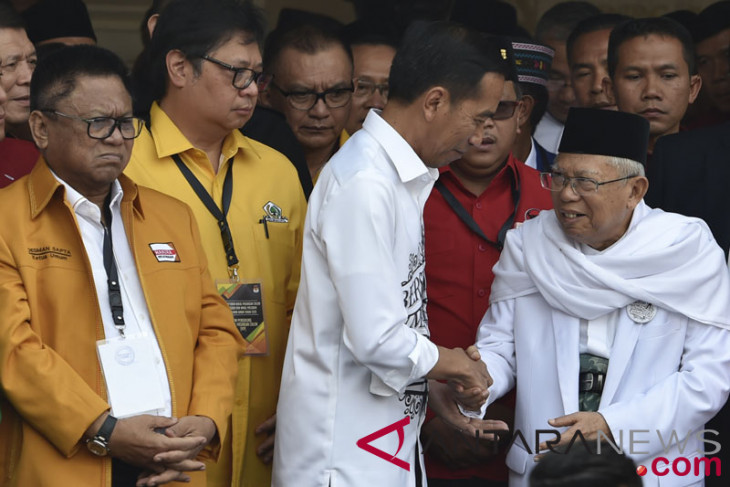 Jokowi: Ma`ruf Amin berpengetahuan luas soal ekonomi