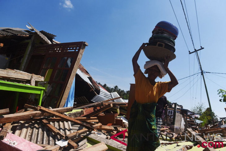 Pemerintah akan bantu rumah tahan gempa