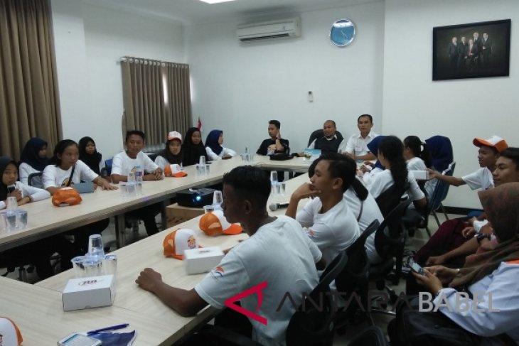 BUMN Hadir - Siswa Palu kunjungi lokasi syuting Laskar Pelangi di Pulau Belitung