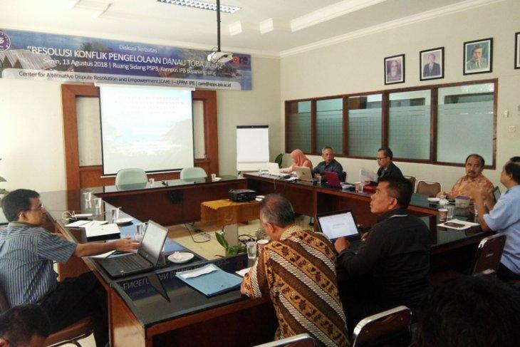 Diskusi resolusi konflik IPB temukan sumber pencemaran Danau Toba