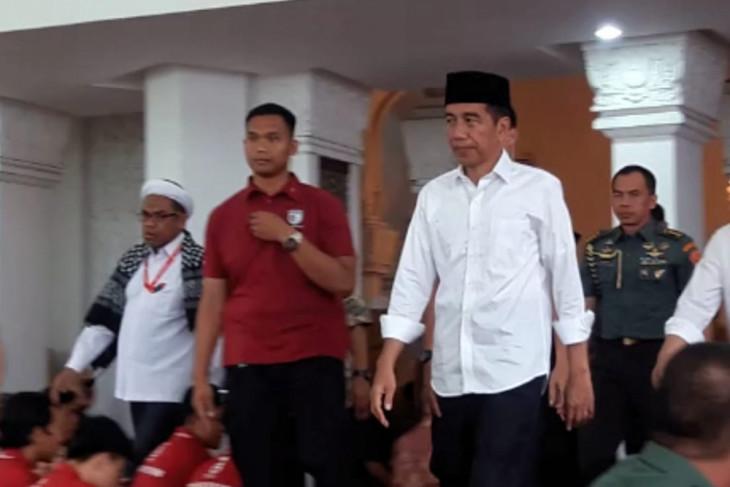 Presiden-Wapres shalat gaib untuk korban gempa NTB
