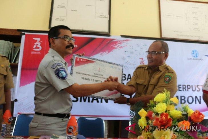 Jasa Raharja Maluku bayar santunan Rp93 miliar