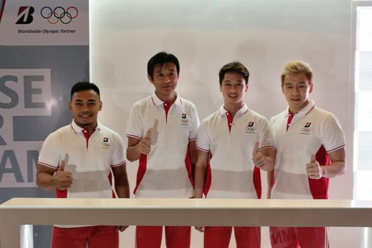 Hasil gambar untuk Markus/Kevin dan Eko Yuli Irawan Duta Bridgestone di Olimpiade Tokyo 2020