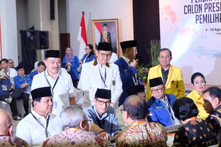 KPU nyatakan dokumen pendaftaran Prabowo Subianto-Sandiaga Uno lengkap