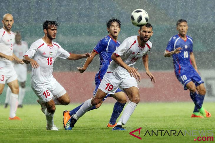 Sepakbola China Taipe Lawan Palestina