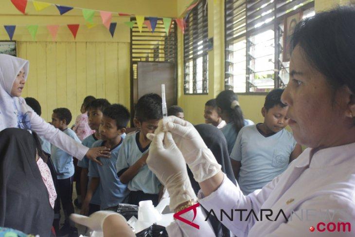 40 persen orang tua di Tolikara menolak vaksin MRP