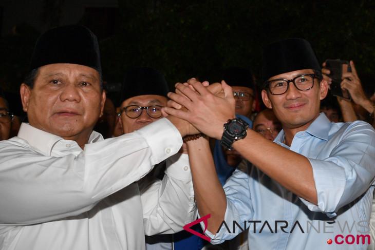 Duet Prabowo-Sandi pupuskan harapan kekuatan politik aliran