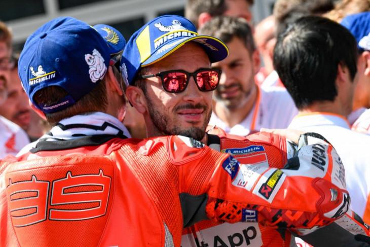 Dovizioso akui salah pilih ban belakang di MotoGP Austria