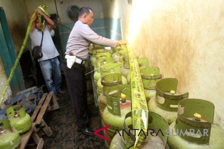 Gas tiga kilogram di Mukomuko mulai langka