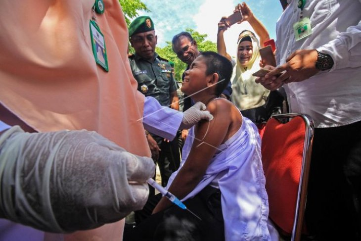 Imunisasi rubela di Banda Aceh tetap berlangsung