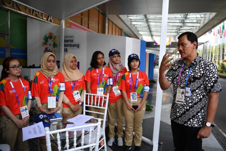 Kesiapan Relawan Asian Games