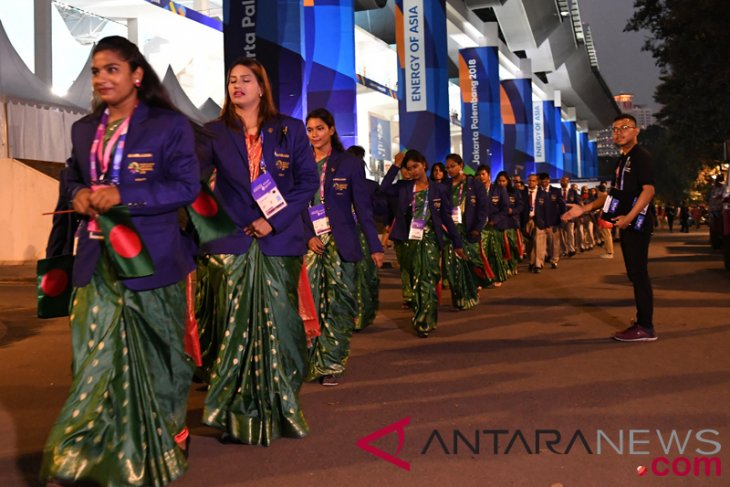 Pembukaan Asian Games 2018