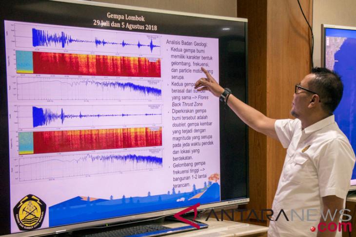 BMKG deteksi 344 gempa di Lombok  sejak 29 Juli