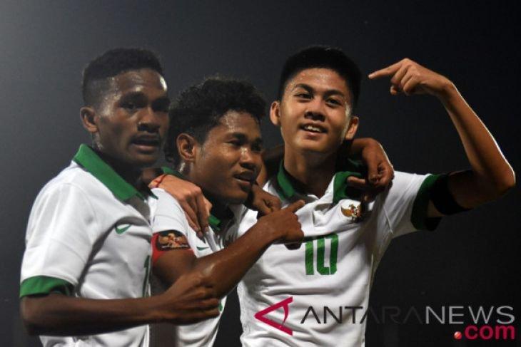 Timnas Indonesia unggul atas Kamboja