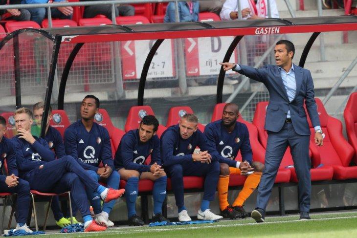 Feyenoord main imbang 1-1 di kandang AZ