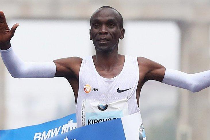 Pelari marathon Kenya pecahkan rekor dunia di Berlin