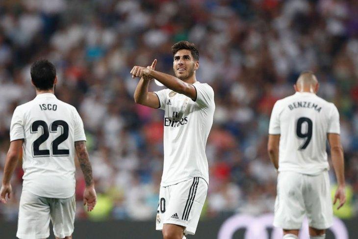 Gol tunggal Asensio menangkan Madrid atas Espanyol
