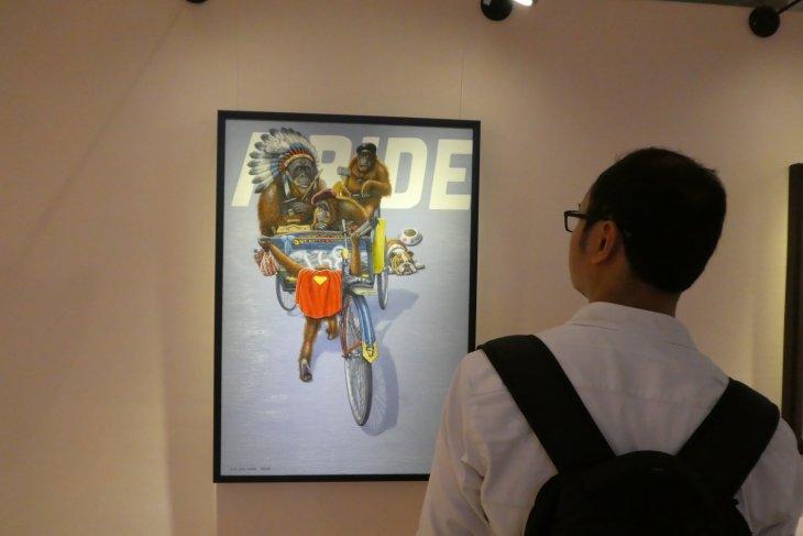 Dari gaya batuan hingga super-realisme, jelmaan potret Basoeki Abdullah